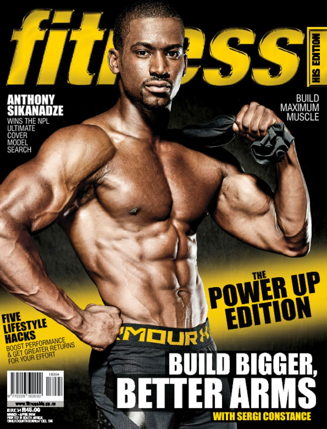 Fitness His Edition Digital