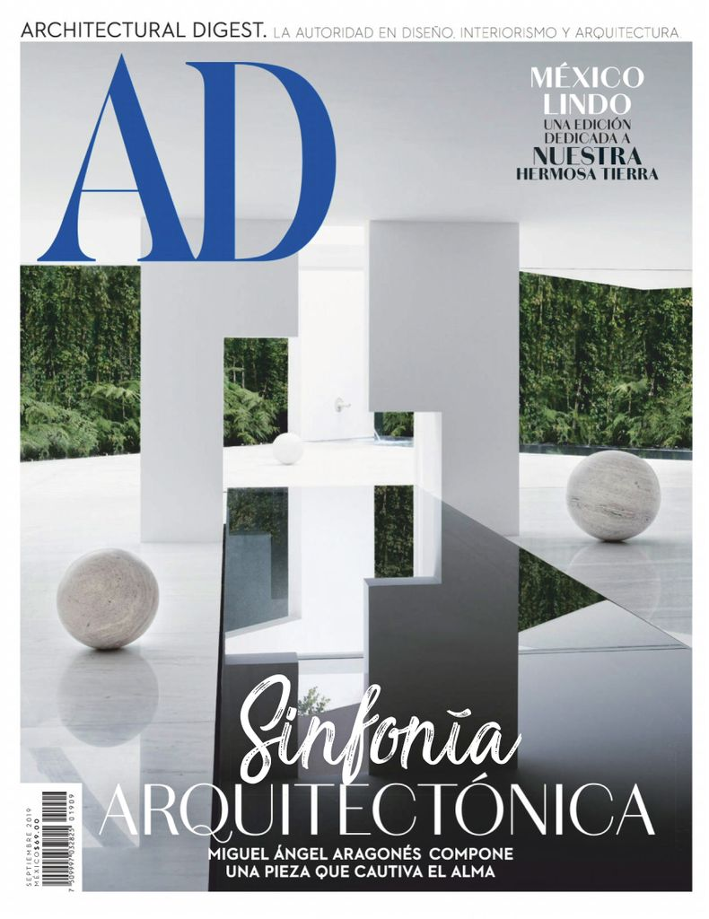 Architectural Digest Mexico Magazine Subscription (Digital)