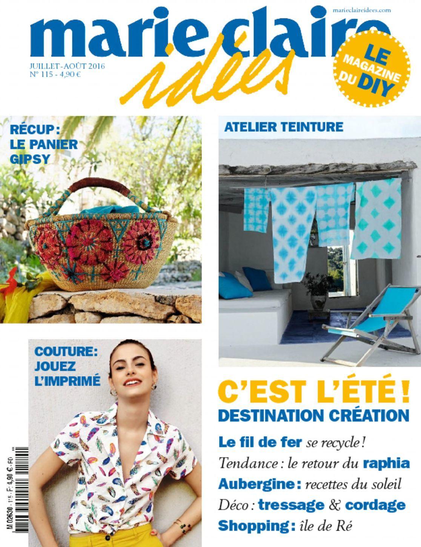 marie claire id es digital magazine. Black Bedroom Furniture Sets. Home Design Ideas