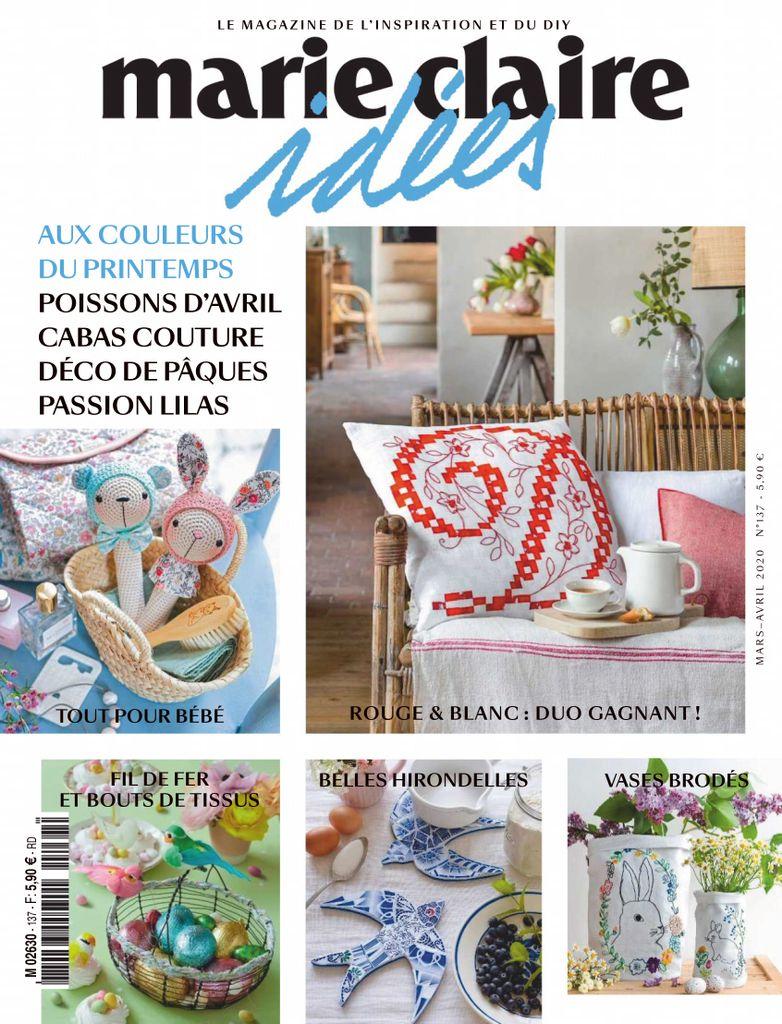 Duo De Couleurs Déco marie claire idées magazine subscription (digital)