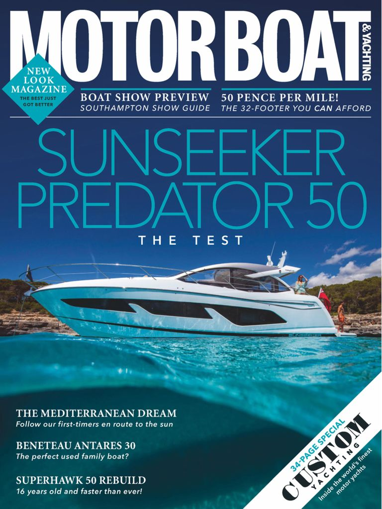 Motor Boat Yachting Digital