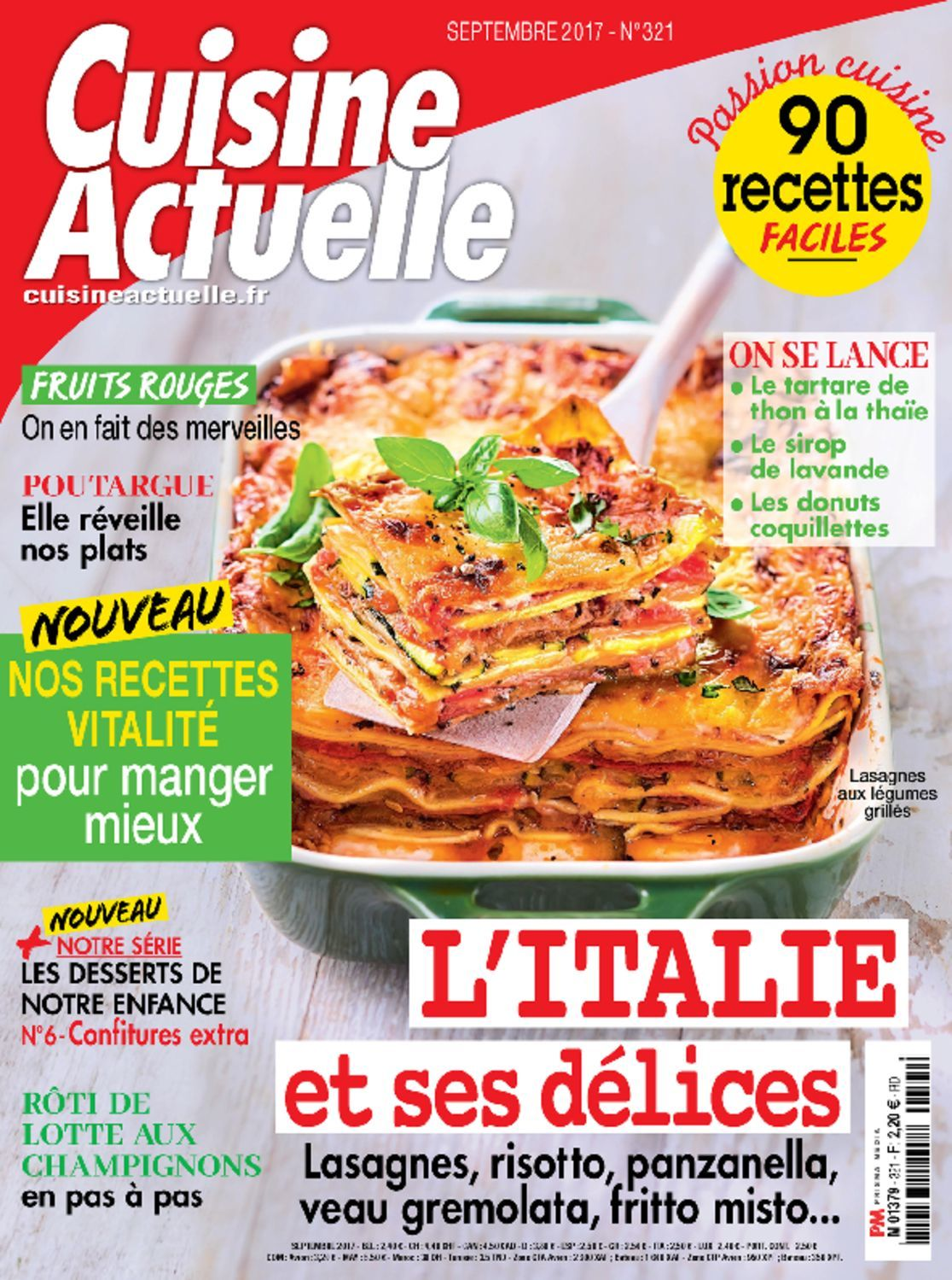 cuisine actuelle magazine digital. Black Bedroom Furniture Sets. Home Design Ideas