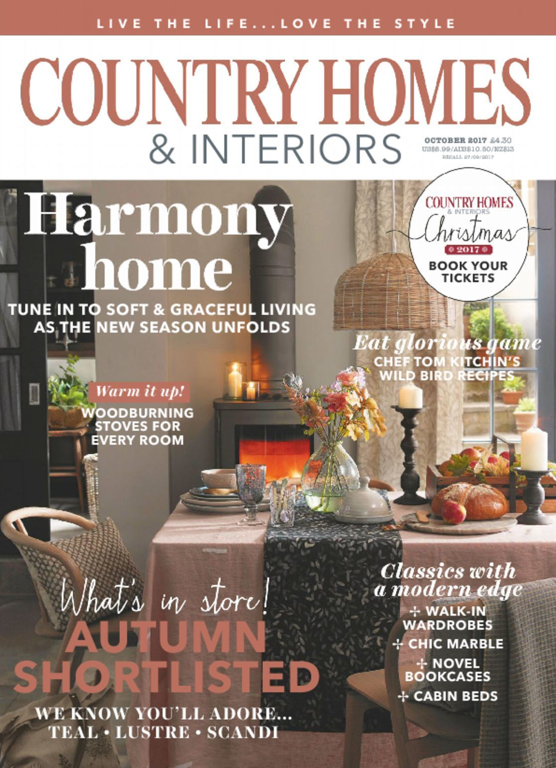 Country homes interiors magazine digital Home design magazine subscription