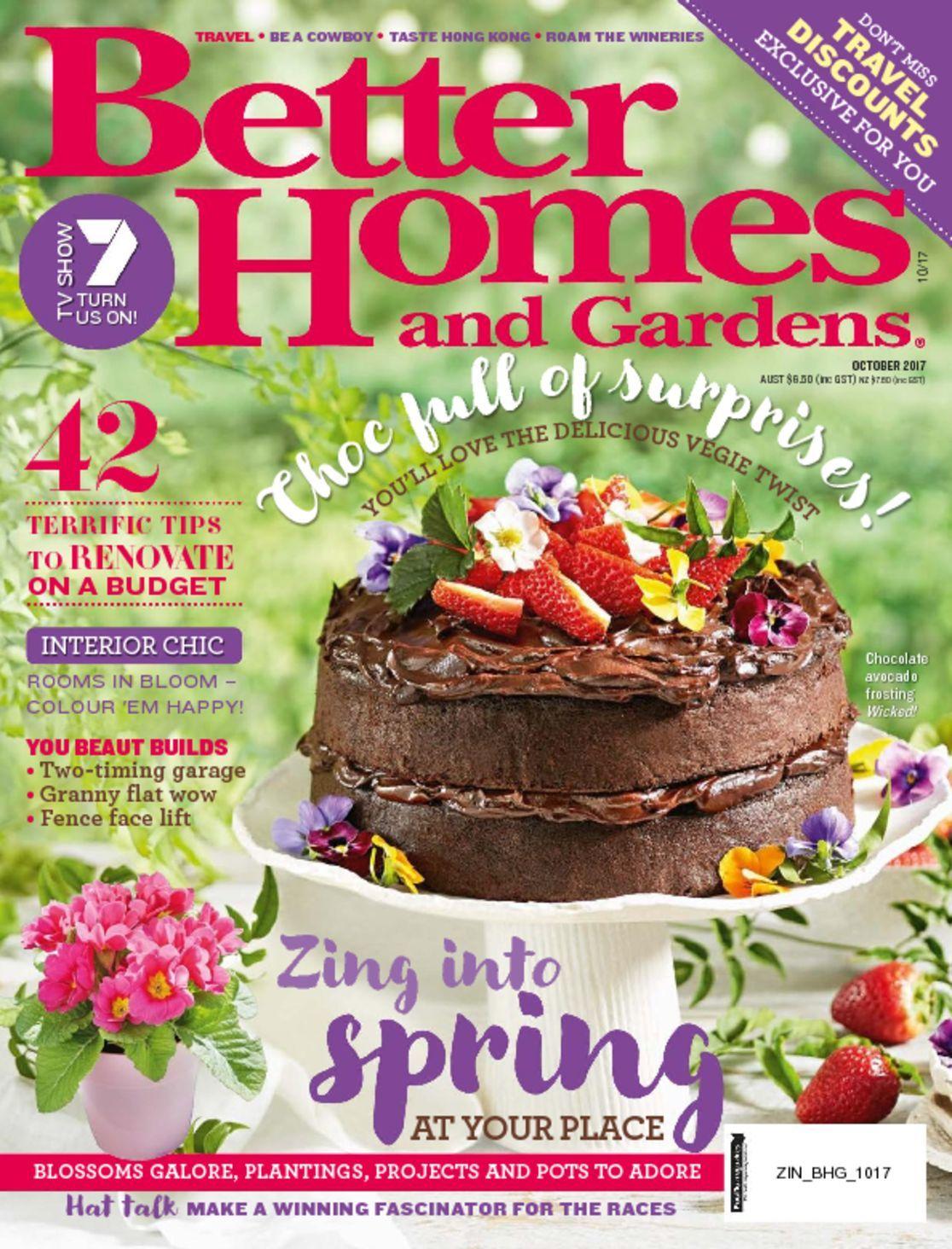 Better Homes And Gardens Australia Magazine Digital