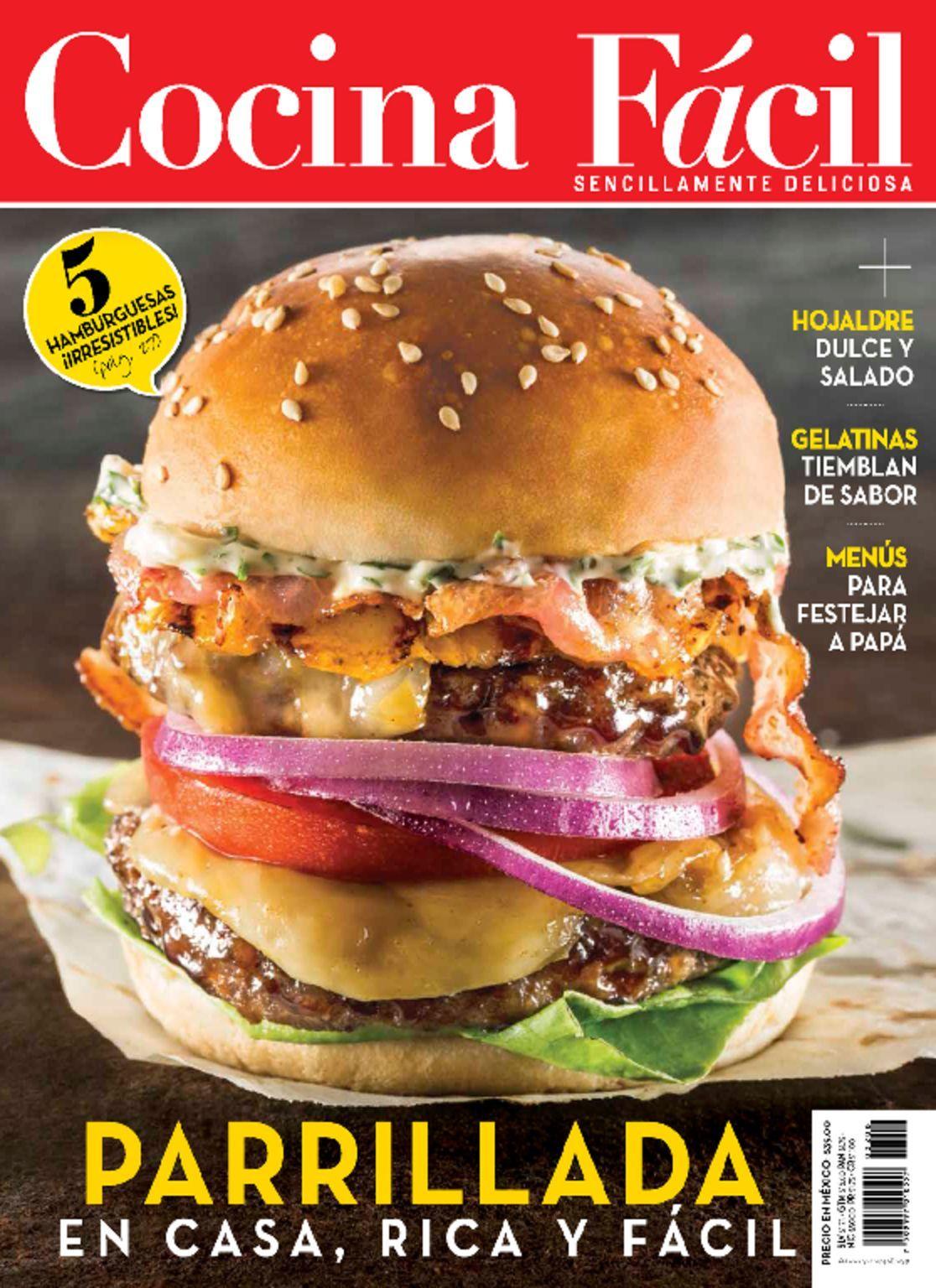 Cocina f cil magazine digital for Cocinar facil
