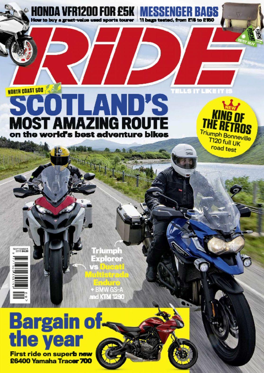 Ride Magazine - September 2017