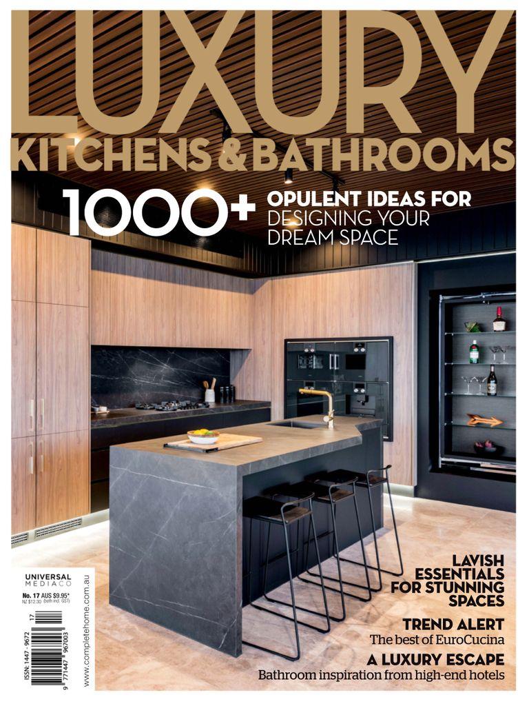 Luxury Kitchen Interior Design: Luxury Kitchens & Bathrooms Magazine (Digital