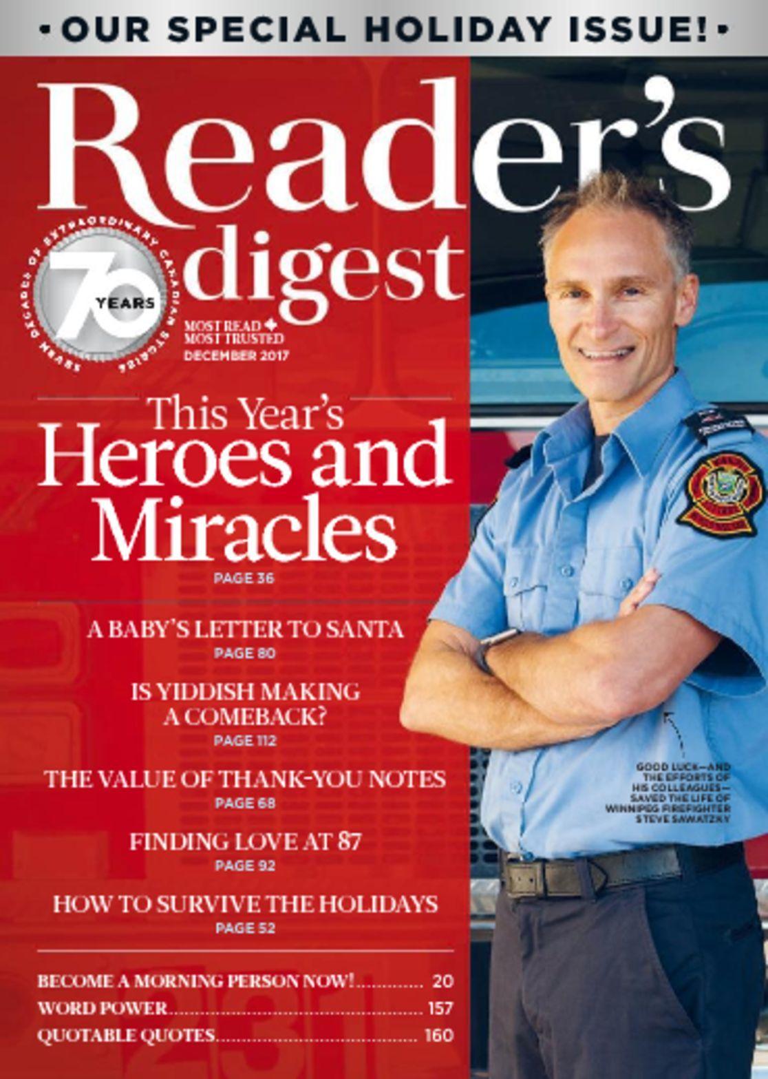 Readers Digest Canada Digital