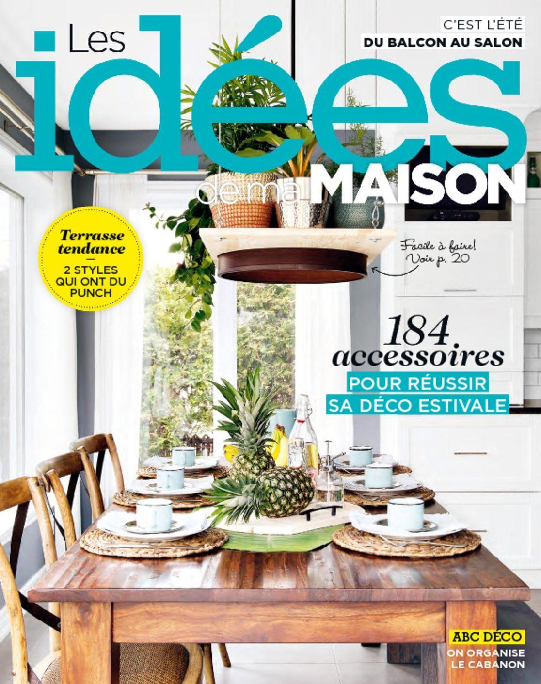 Les id es de ma maison magazine digital for Idees de ma maison magazine