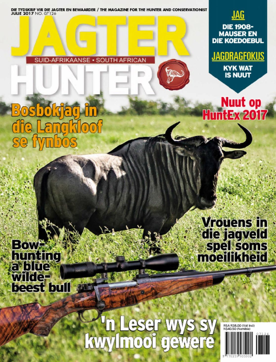 Sa hunter jagter magazine digital for Sa fishing promo code free shipping