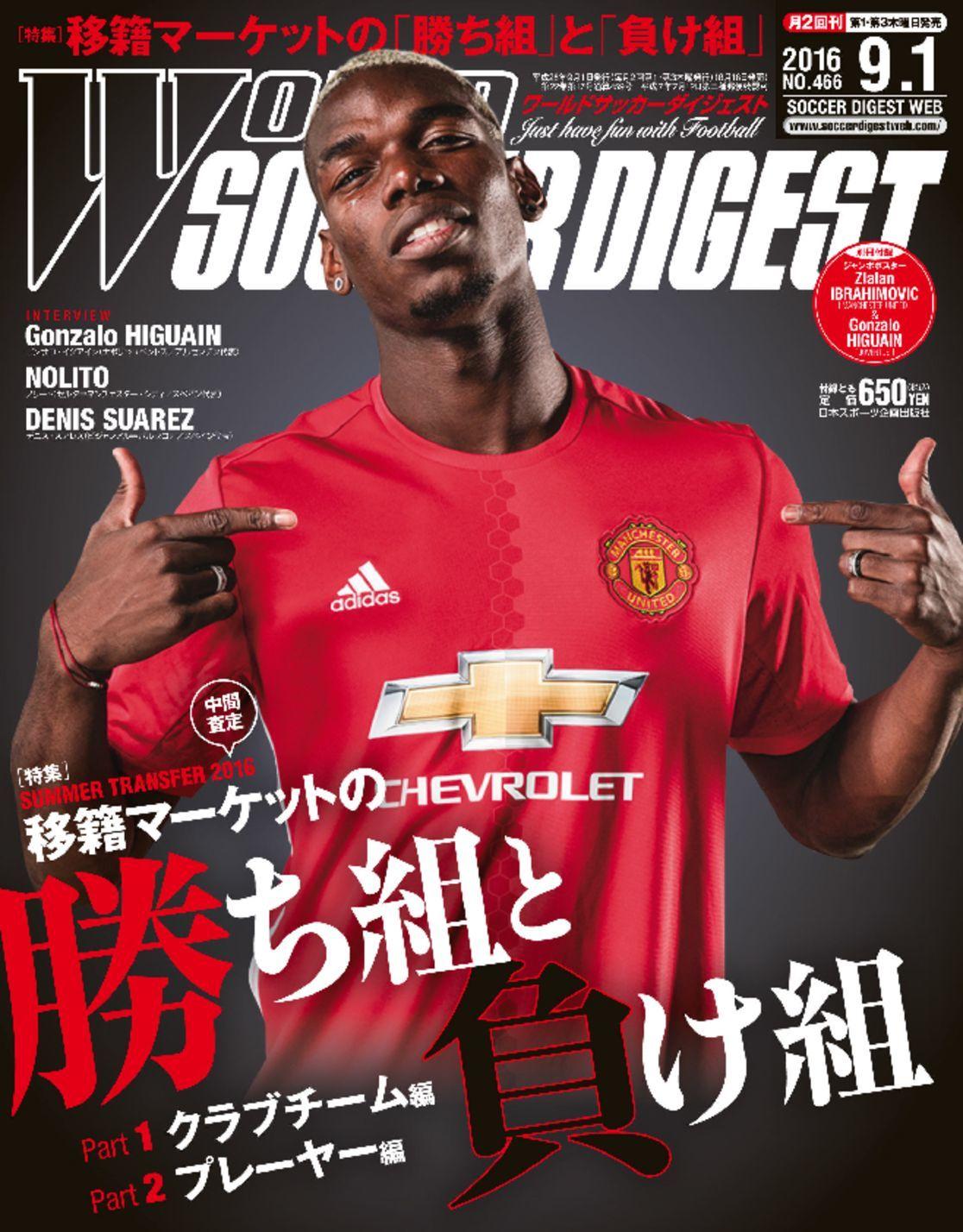 ワールドサッカーダイジェスト World Soccer Digest Digital