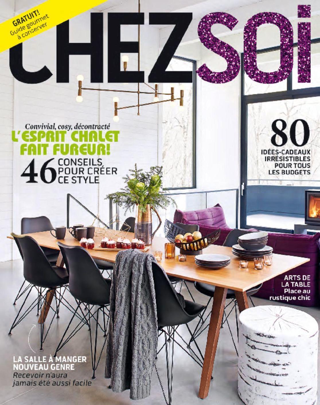 Chez soi magazine digital for Magazine decoration chez soi