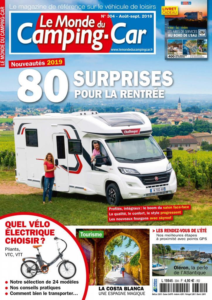 le monde du camping car magazine digital. Black Bedroom Furniture Sets. Home Design Ideas