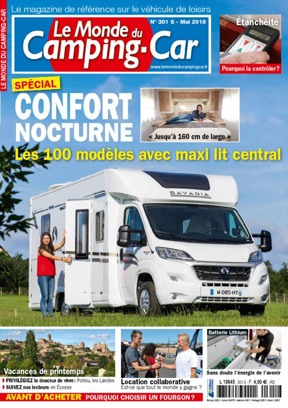 Le monde du camping car magazine digital for Shop le monde