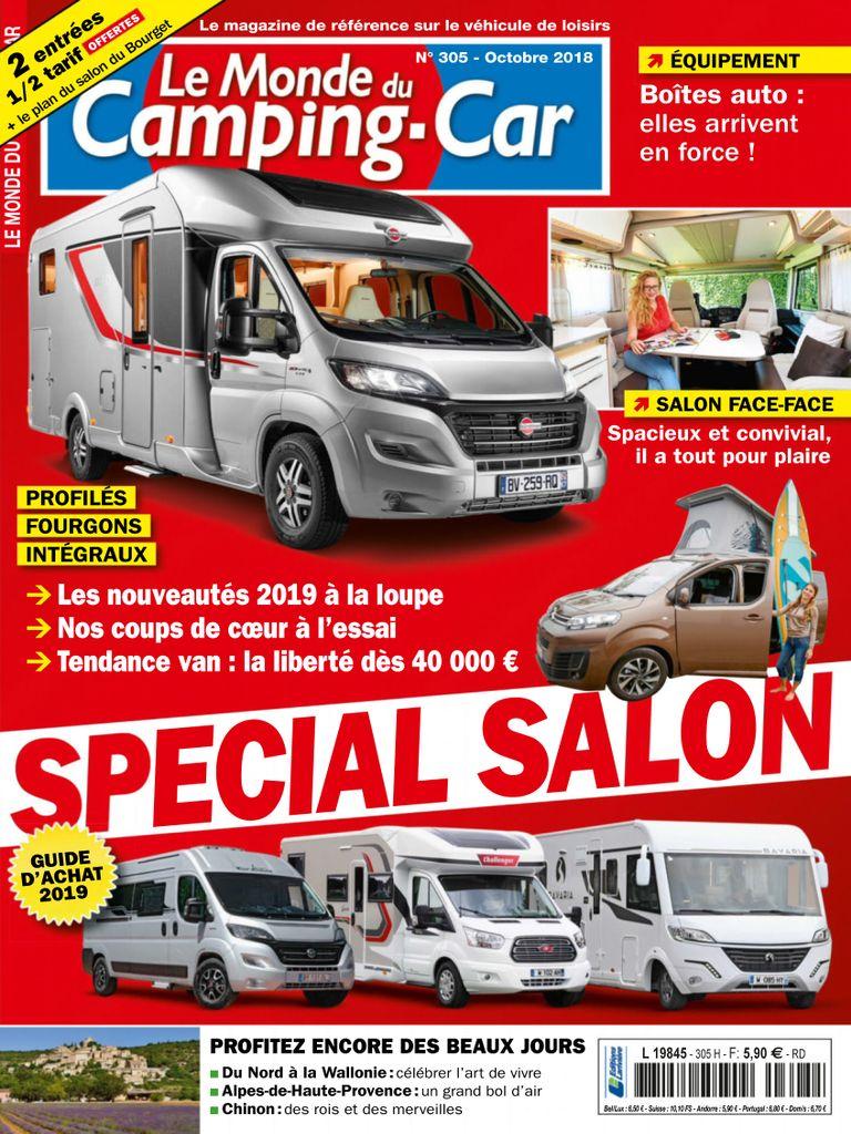 Le Monde Du Camping car Digital