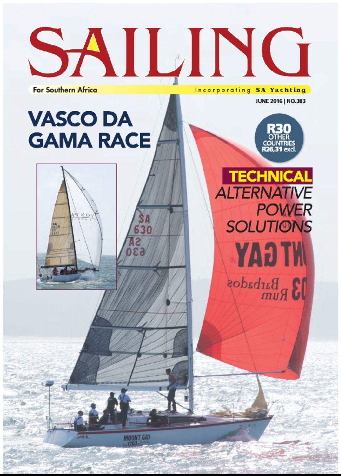 Sailing incorporating sa yachting digital magazine for Sa fishing promo code free shipping