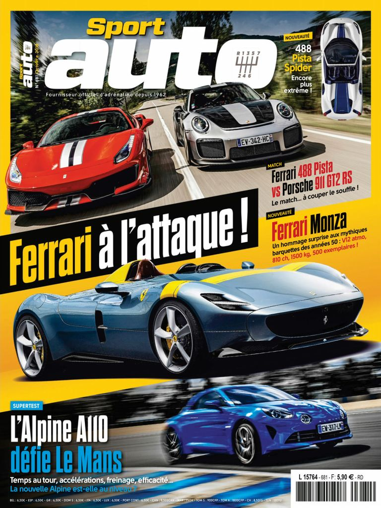sport auto france magazine digital. Black Bedroom Furniture Sets. Home Design Ideas