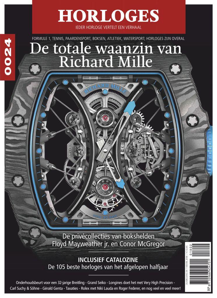 0024 Horloges is het grootste luxueuze magazine in Europa over de fascinerende wereld van haute horlogerie. Het ultieme horlogemagazine staat vol met nieuwe modellen van de topmerken, achtergrondverhalen en diepte-interviews met ontwerpers en horlogemakers. Wie bij de tijd wil blijven, leest 0024 Horloges (Nederlandse taal).