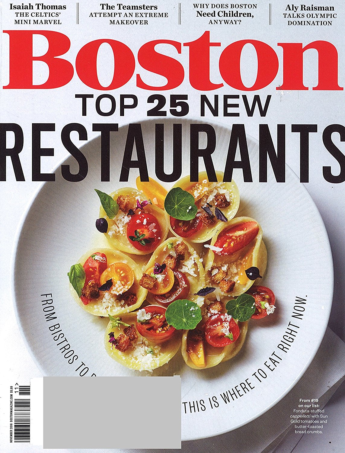Boston Magazine Subscription