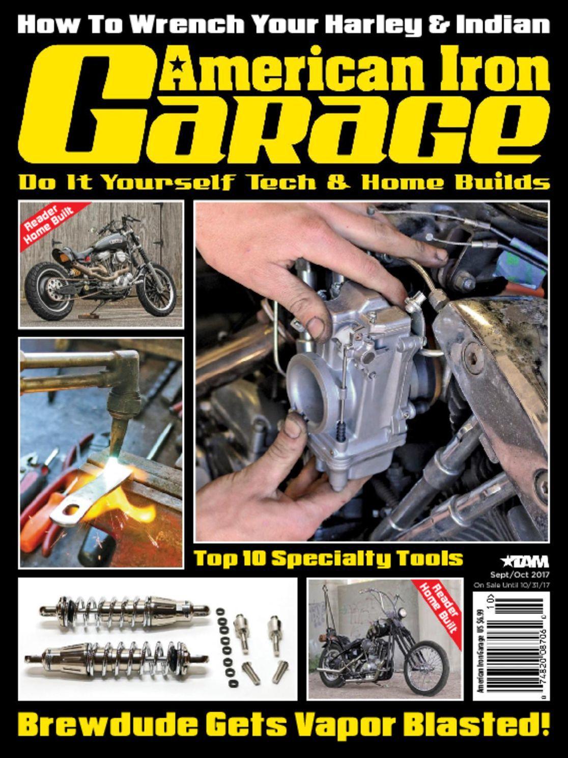 American iron garage magazine digital discountmags