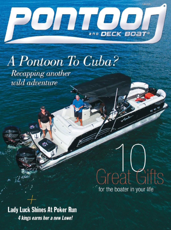 Pontoon Deck Boat Digital