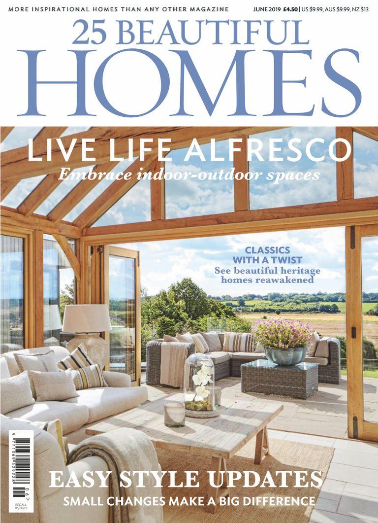 25 Beautiful Homes Kitchens: 25 Beautiful Homes Magazine (Digital)