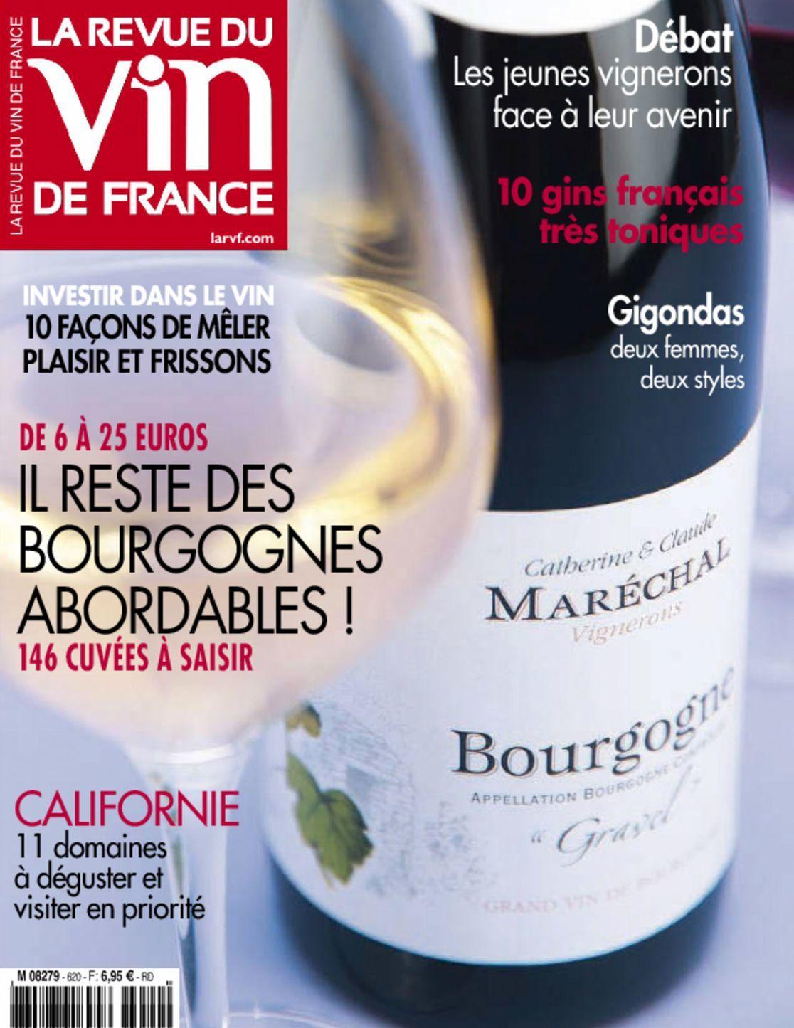 La revue du vin de france magazine digital for Revue vin de france