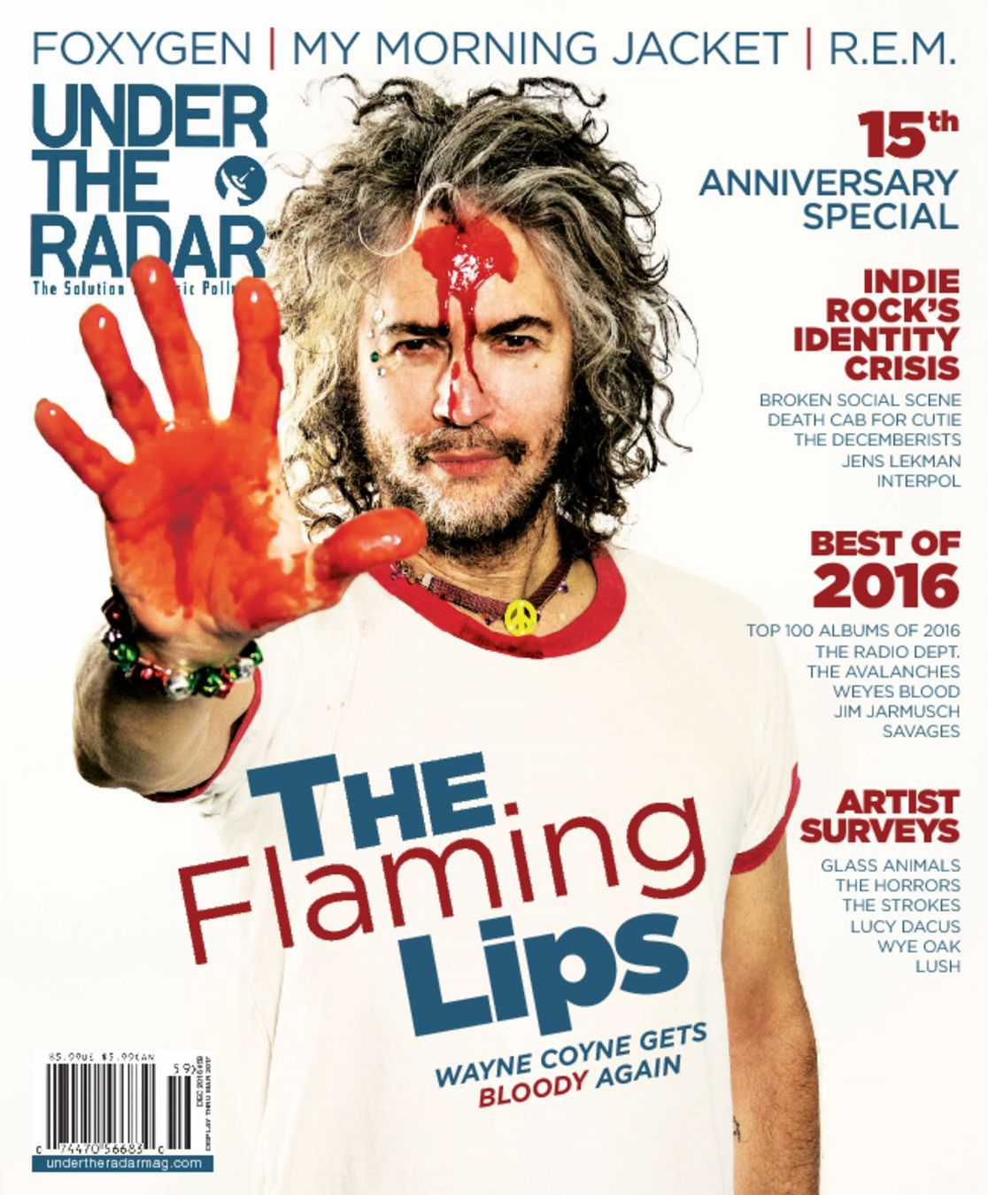 Under the radar magazine digital for Anniversary magazine