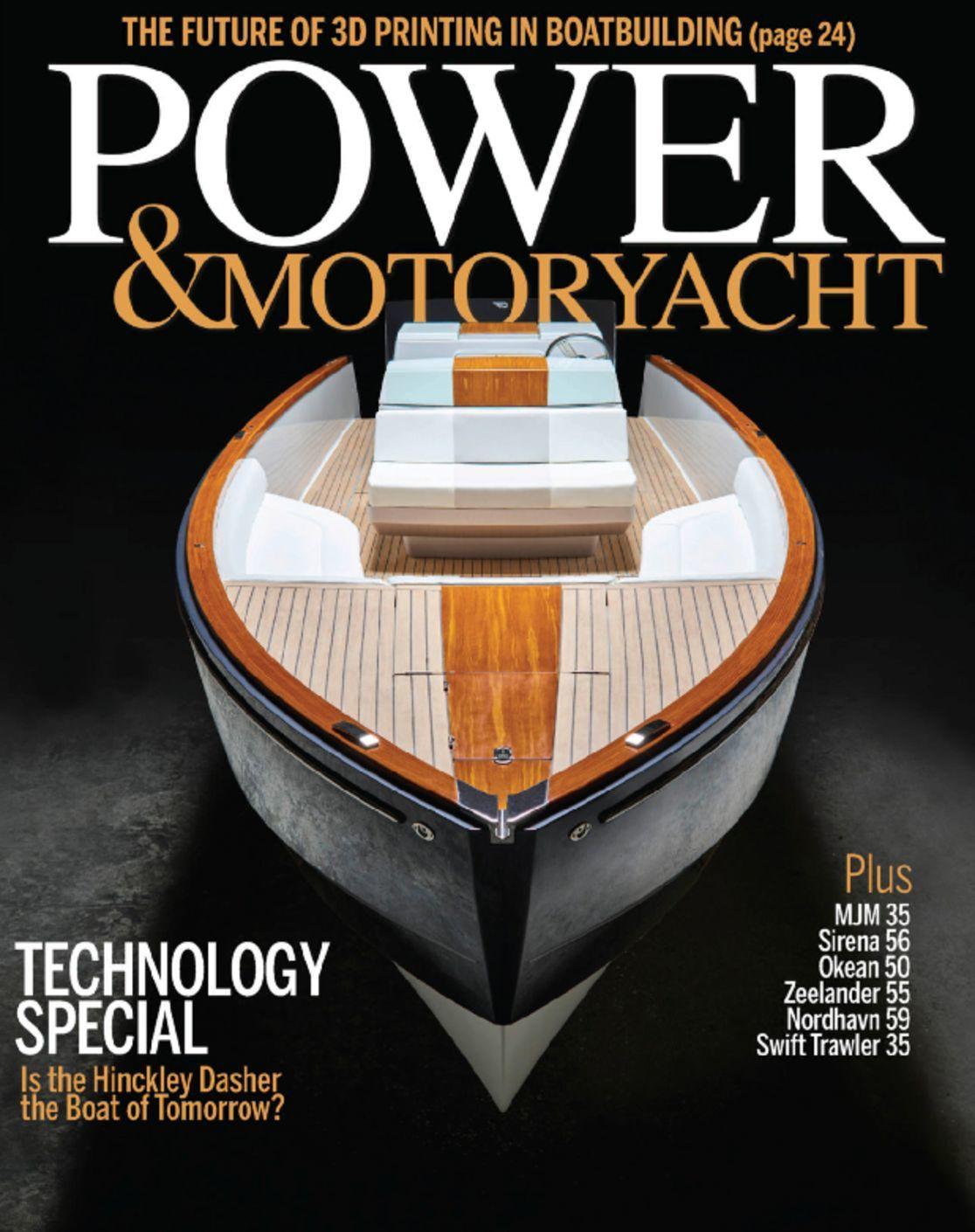 Power Motor Yacht Magazine Subscription