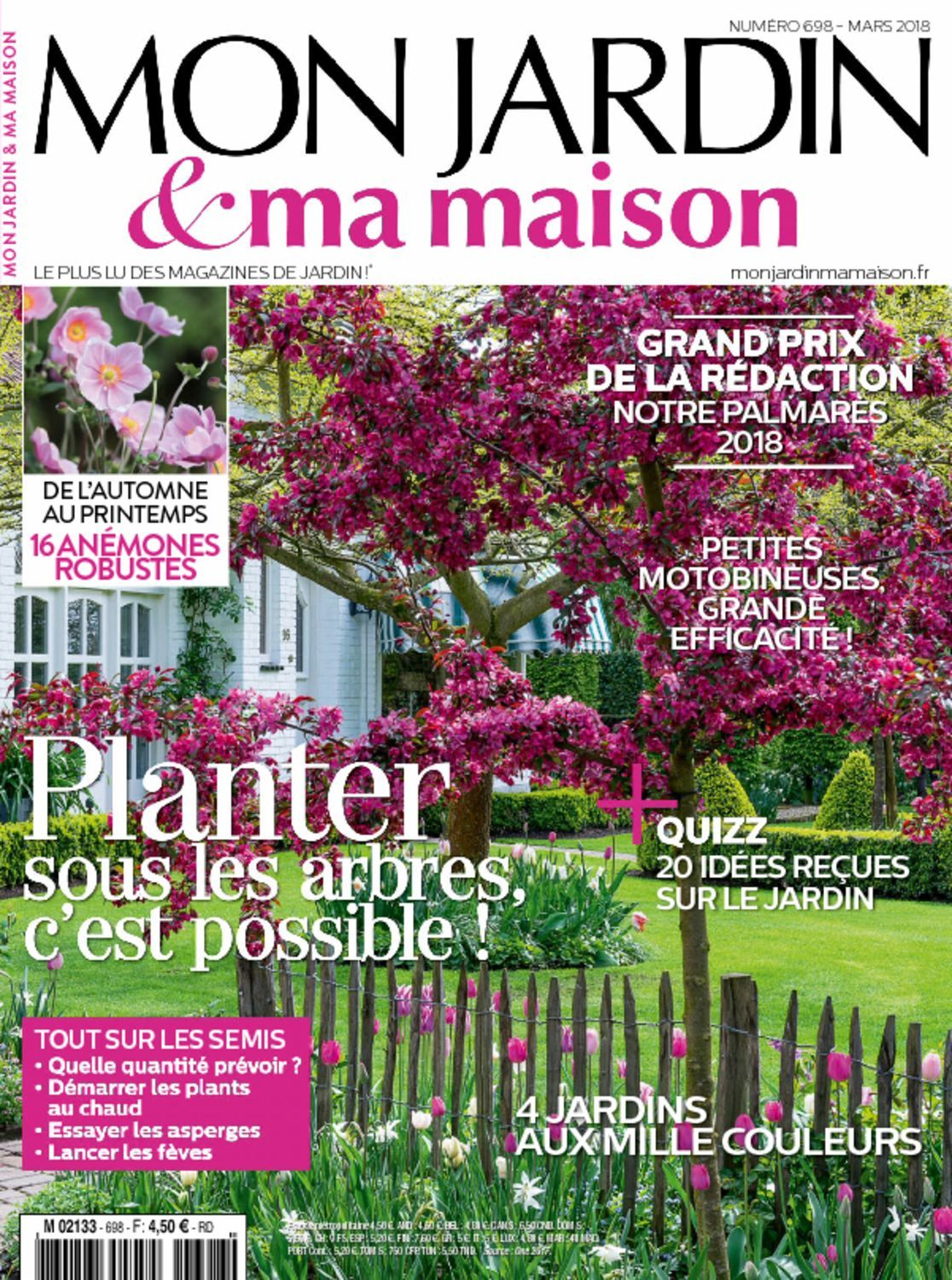 mon jardin ma maison magazine digital. Black Bedroom Furniture Sets. Home Design Ideas