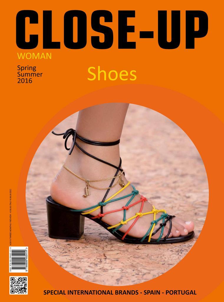 Close Up Shoes Women Digital