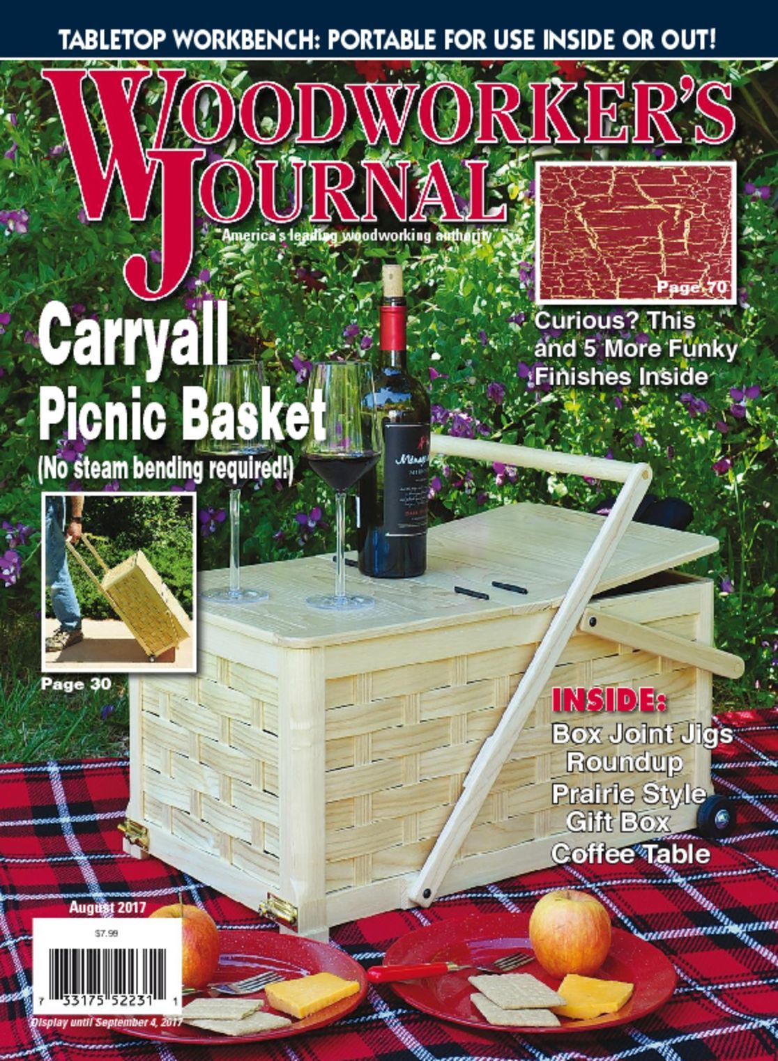 Woodworker's Journal Magazine | Everything Woodworking - DiscountMag - DiscountMags.com