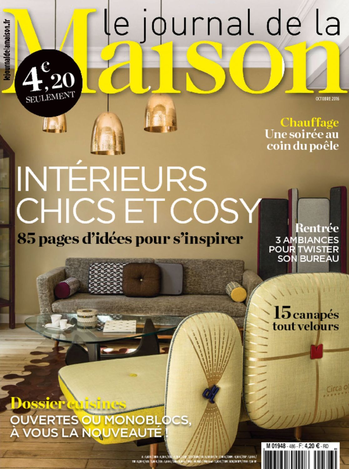 le journal de la maison digital magazine. Black Bedroom Furniture Sets. Home Design Ideas