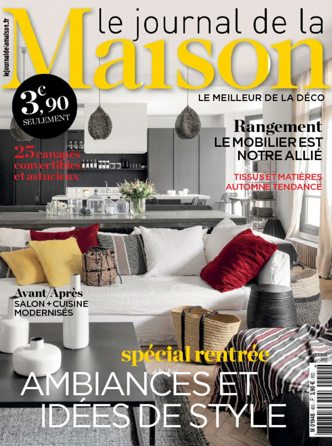 le journal de la maison magazine digital. Black Bedroom Furniture Sets. Home Design Ideas