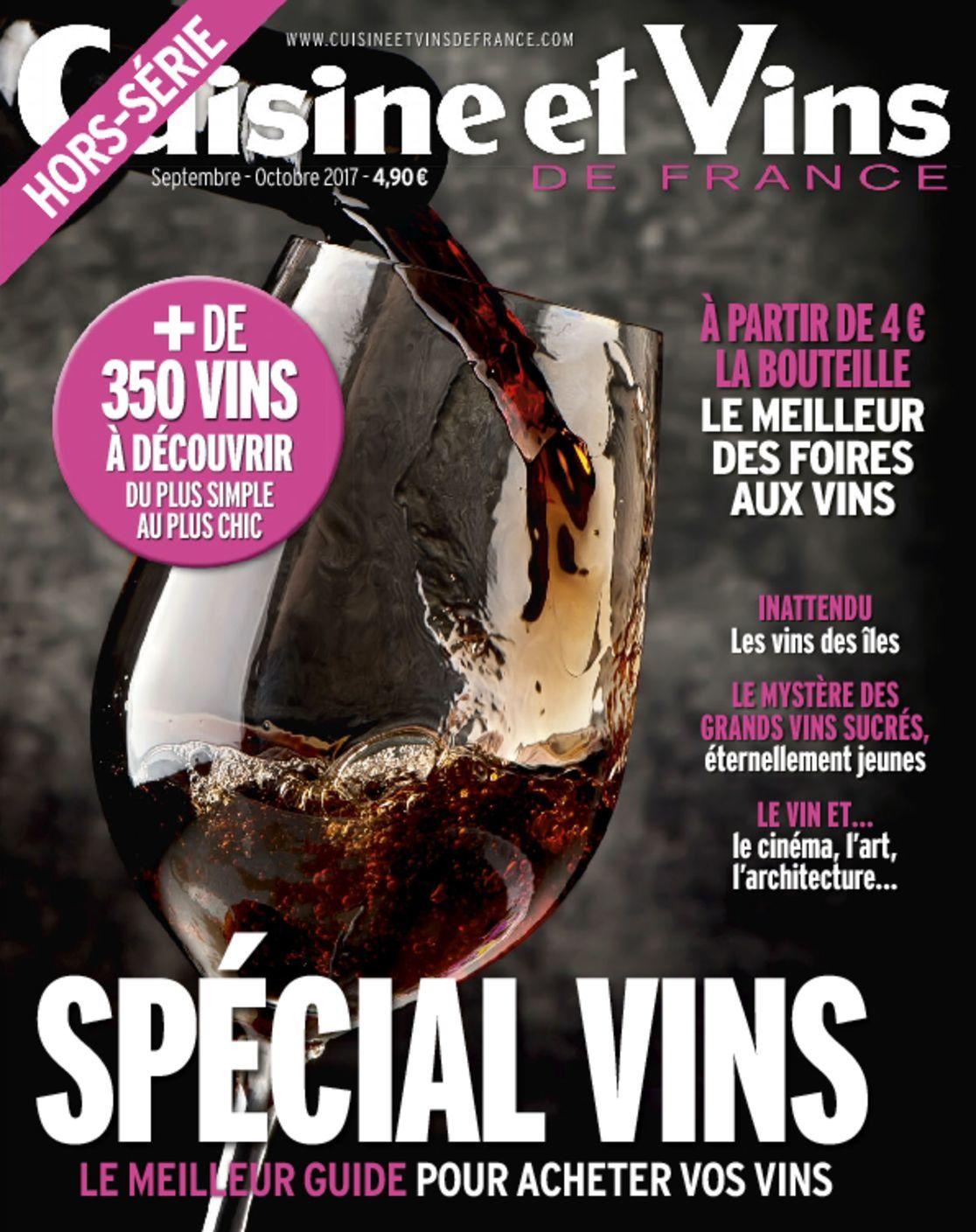 Cuisine et vins de france hs magazine digital for Abonnement cuisine et vins de france