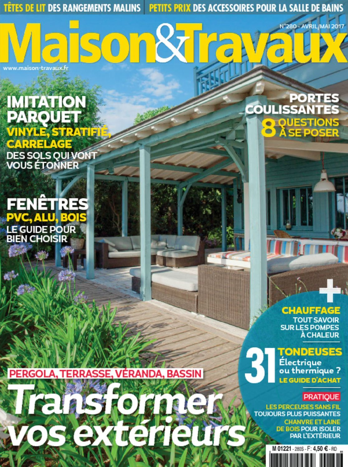 maison travaux magazine digital. Black Bedroom Furniture Sets. Home Design Ideas