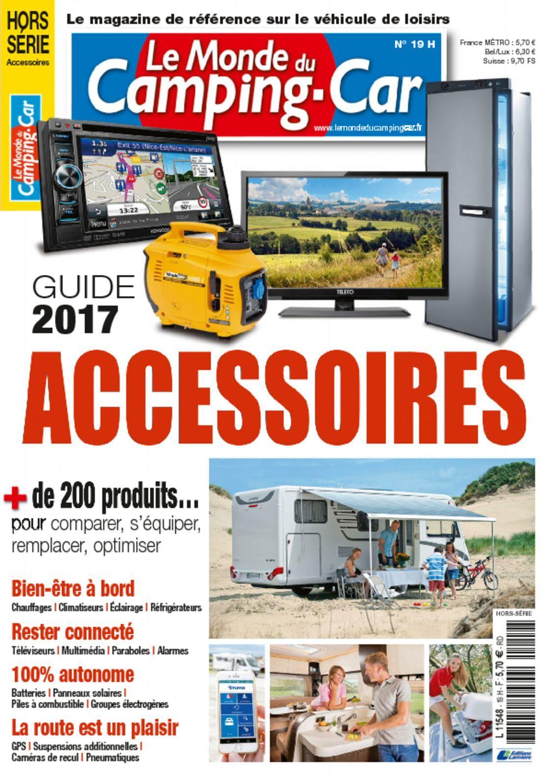 le monde du camping car hs digital magazine. Black Bedroom Furniture Sets. Home Design Ideas