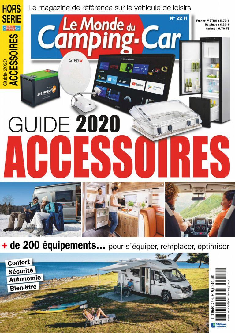 Le Monde Du Camping Car Hs Hs Guide Accessoires 2020 Issue Digital Discountmags Com