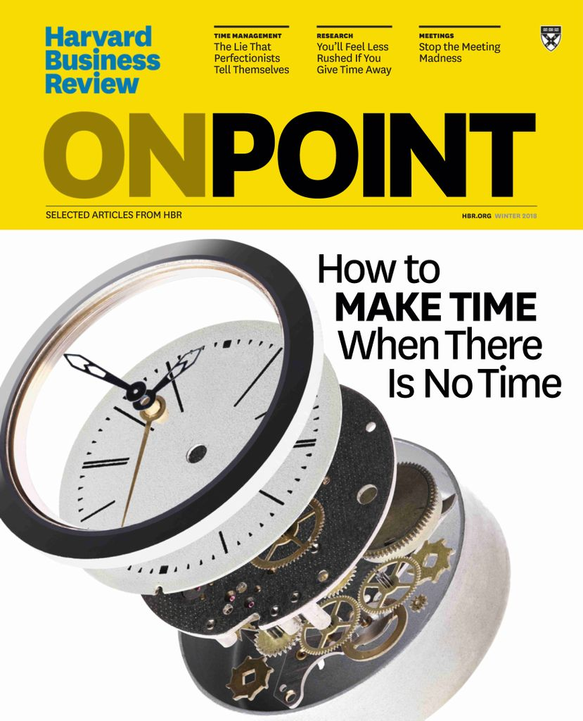 Harvard Business Review Onpoint Digital