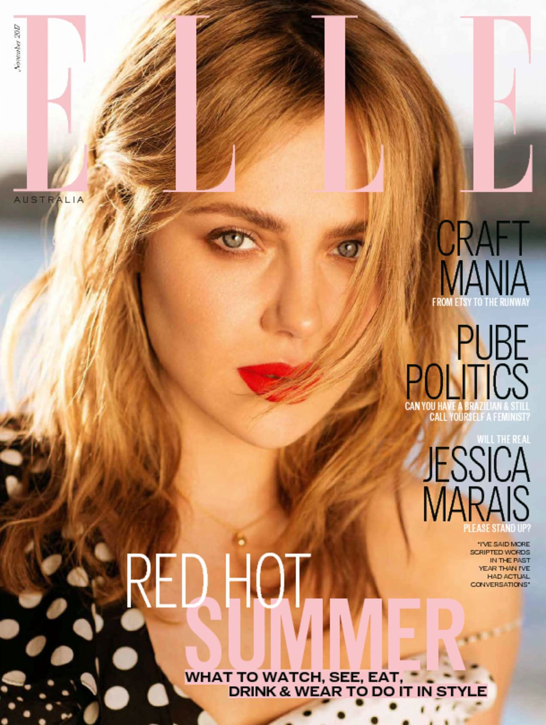 See Elle Australias Premier Cover with Gabby Westbrook