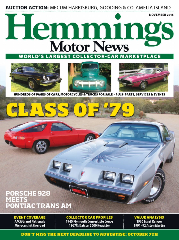 Hemmings Motor News Digital Magazine