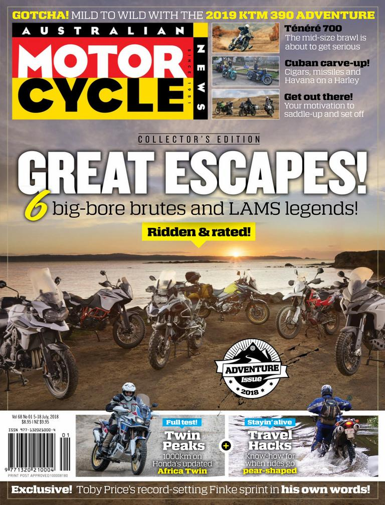 Australian Motorcycle News Digital