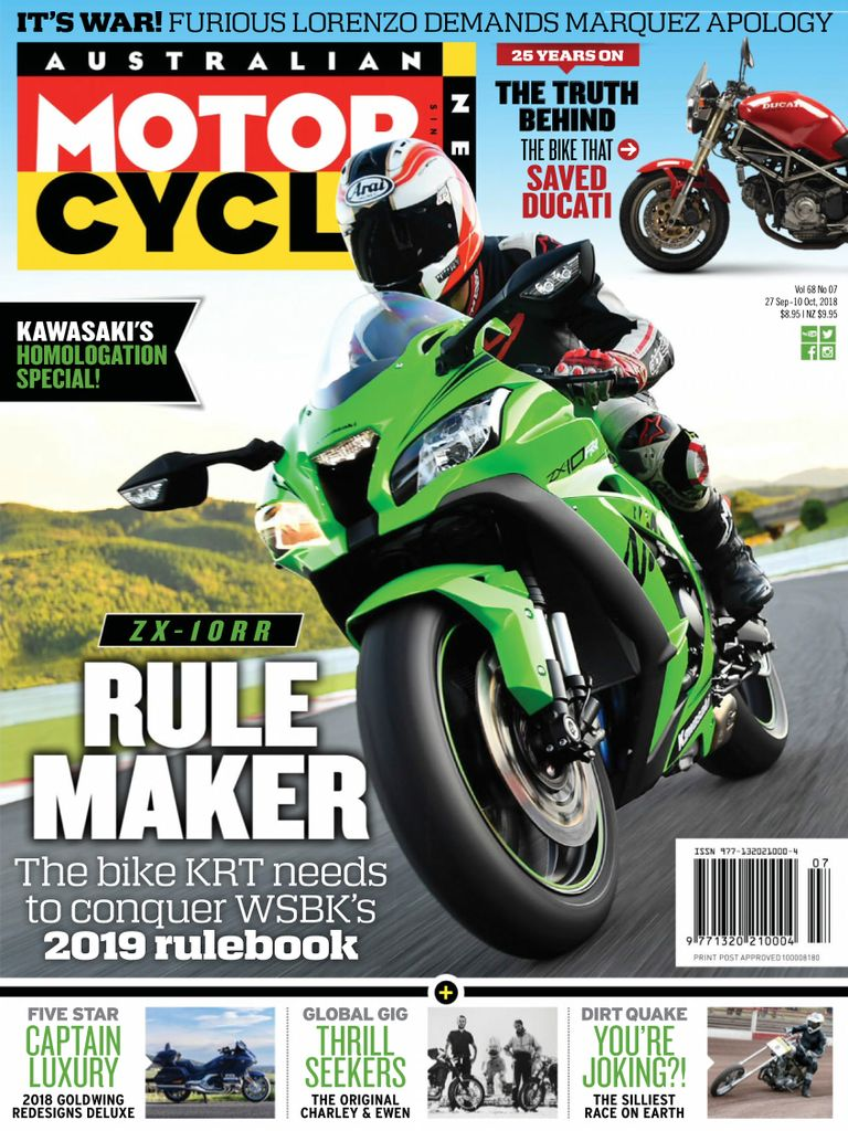 Australian Motorcycle News Digital