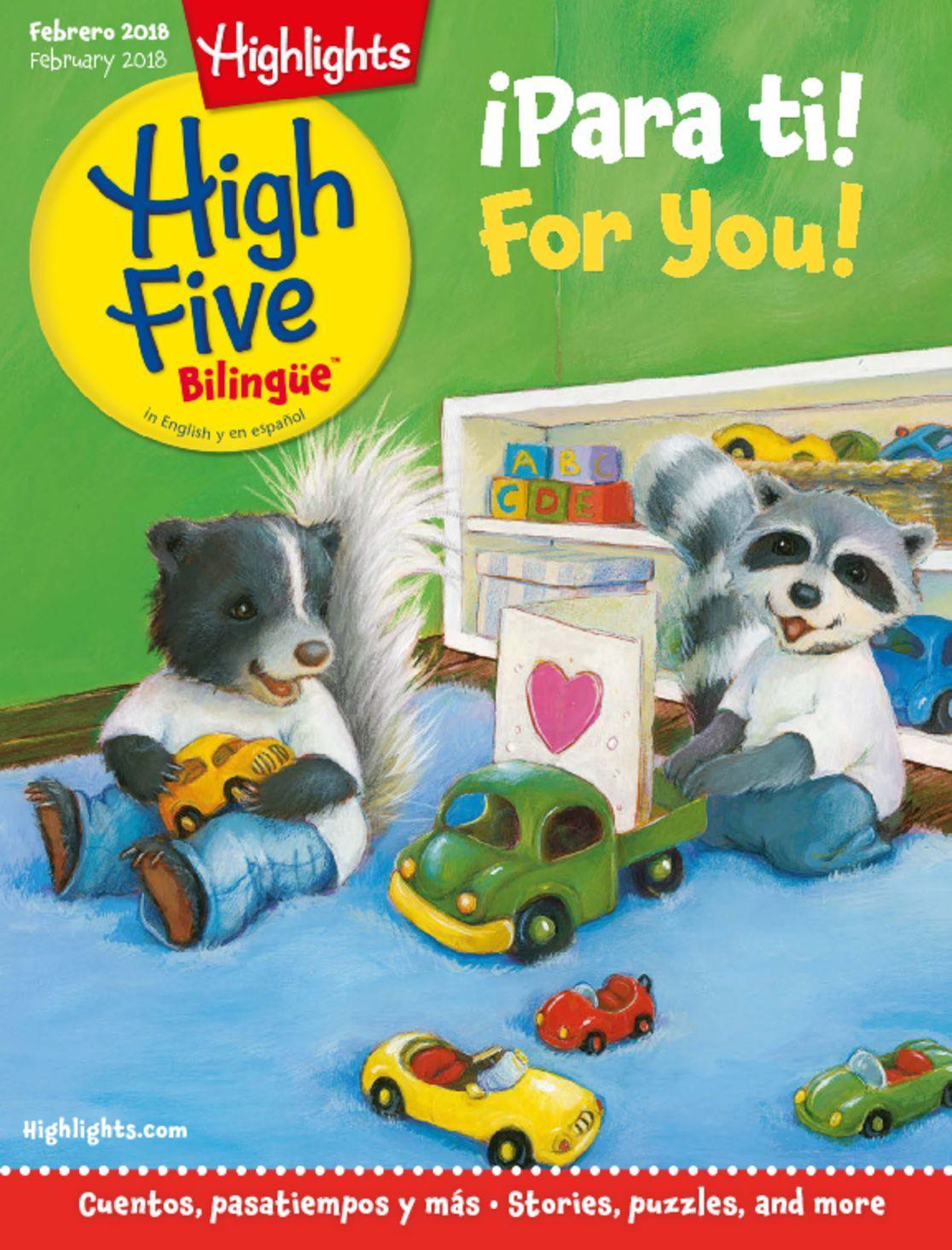 Highlights High Five Bilingue Digital
