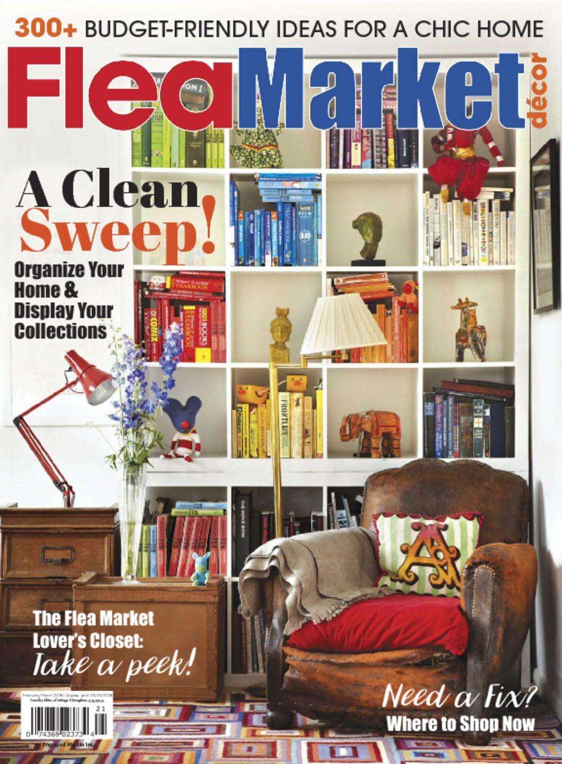 Flea market decor magazine digital for International home decor stores