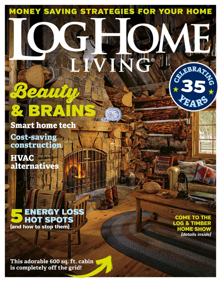 Log home living magazine digital for Home living magazines