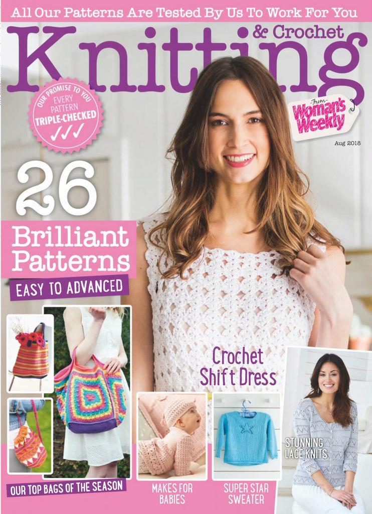 Knitting Crochet from Woman's Weekly Digital