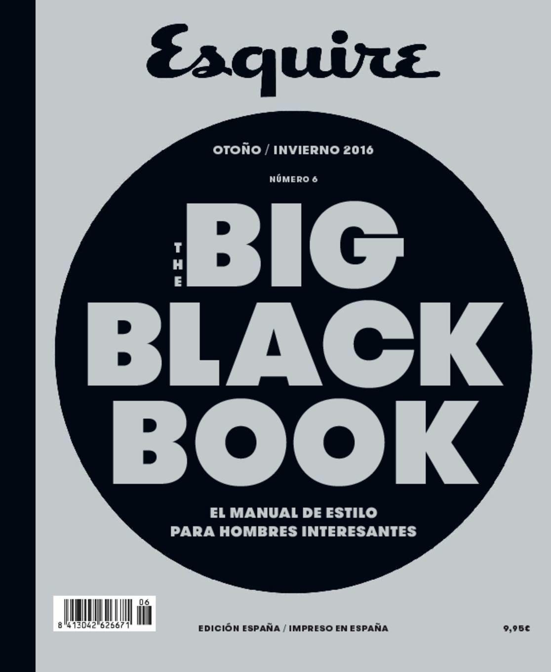 Black Book Cover Images : The big black book españa magazine digital