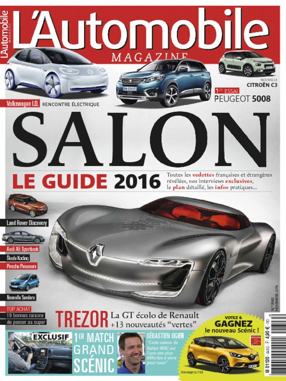 L'automobile (digital) Magazine Cover