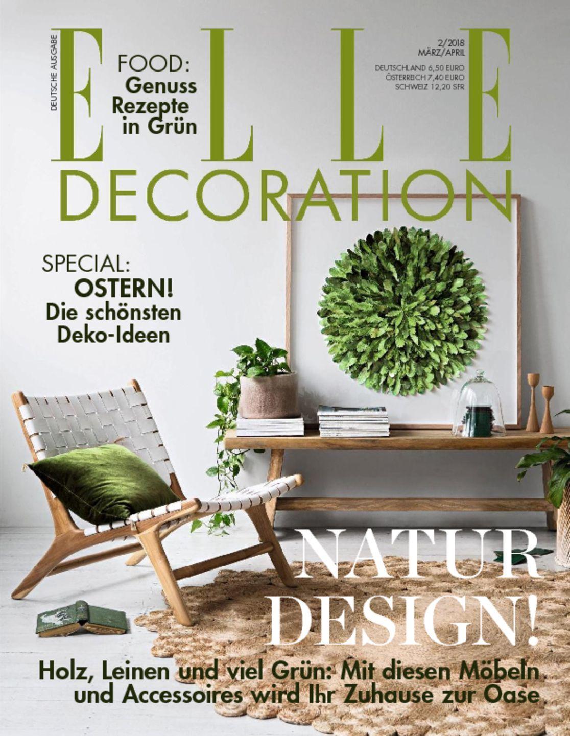 Elle decoration germany magazine digital for Elle decoration germany